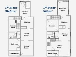 craftsman bungalow floor plans sopo cottage the craftsman bungalow the floor plans before and
