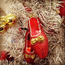 ruby slippers ornaments in our museum store museum