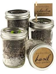 mason jar herb garden kit indoor herb garden kit