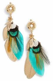 feather earrings for kids women s gas bijoux jewelry nordstrom