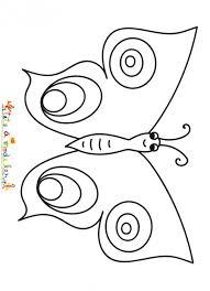 coloriages sur le monde des papillons tête à modeler