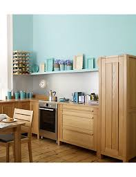 marks and spencer kitchen furniture sonoma light kitchen pull out larder unit m s