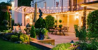 String Outdoor Patio Lights Exactly How I Want The Light Hing In My Back Yard Outdoor Living