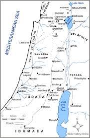 Jordan River Map Biblical Geography