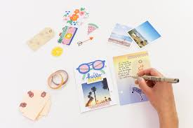 how to make a modern mini scrapbook for your coffee table brit co