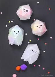 printable wax paper diy ghost boxes tutorial with free printable kawaii craft