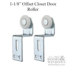 Closet Door Roller Top Hung Closet Door Roller With 1 Inch Plastic Wheel And 1 1 8
