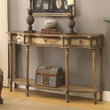 Accent Console Table Coaster Accent Tables Traditional Breakfront Console Table Value