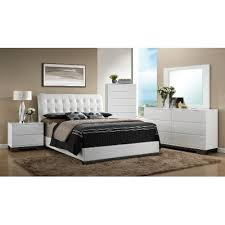 bedroom sets white white contemporary 6 piece king bedroom set avery rc willey