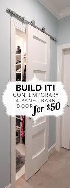 best 25 interior barn doors ideas on diy sliding door