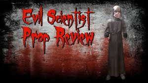 my spirit halloween props spirit halloween evil scientist prop review youtube