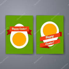 easter eggs templates vector flyer brochure cover for print