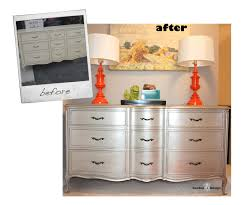 Painting French Provincial Bedroom Furniture by Silver French Provincial Dresser Before And After What Not To Do