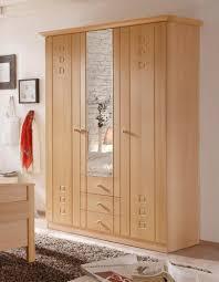 Schlafzimmerm El Kleiderschrank Komfortbett Und Seniorenbett In Buche Dekor 100x200 Cm