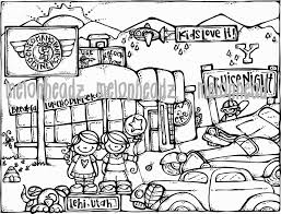 mailman coloring pages melonheadz woot woot