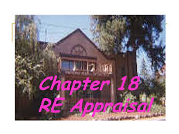 Home Appraisal Value Estimate by Chapter 18 Re Appraisal Terms Appraisal Estimate Of Value Of