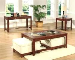 Coffee Table Ottoman Combo Coffee Table With Ottoman Underneath Glass Ottoman Coffee Table