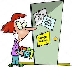 Bedroom Cartoon Cartoon Teenager Bedroom U2014 Stock Vector Ronleishman 13951441