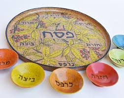 what goes on the passover seder plate passover seder plate etsy