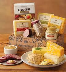 cheese gift box deluxe sausage and cheese gift box harry david