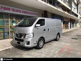nissan van nv350 buy used nissan nv350 panel van 2 5 5mt 5dr euro v car in