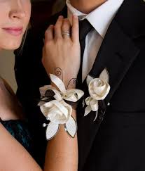 corsages and boutonnieres for prom cynthia shaffer fabric wire paper prom corsage and