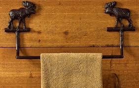 moose r us com cast iron lodge theme moose bathroom accessories