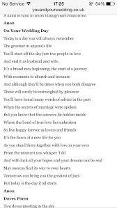 Wedding Quotes Journey Perfect Wedding Poem We Got A Date 7 4 15 Pinterest