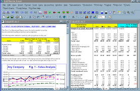 Excel Template For Financial Analysis Screen Business Plan Software Template Financial