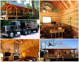 dovetail custom built log cabins