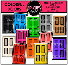 super simple home backgrounds clip art big bundle color and b u0026w
