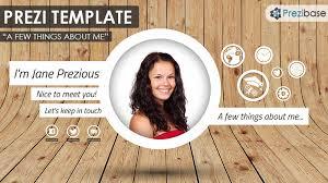 Free Cv Resume Free Prezi Templates Prezibase