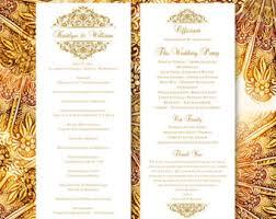 make your own wedding fan programs wedding fan programs vintage lace navy blue