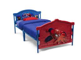 delta children marvel spider man 3 d twin convertible toddler bed