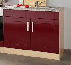 K Henzeile Preiswert Küchenzeile Varel Küchen Leerblock Breite 270 Cm Hochglanz