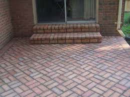 Simple Brick Patio With Circle Paver Kit Patio Designs And Ideas by Circular Brick Patio Designs The Home Design Brick Patio Designs