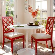 Red Dining Chair Get The Look Lacquered Furniture Inspriation Picklee