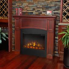 thin electric fireplace binhminh decoration