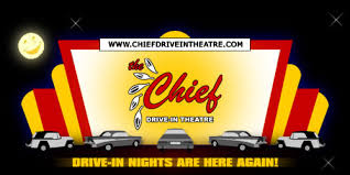 welcome to the chief drive in theatre
