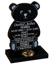 baby headstones for children s memorial headstones and kerbsets leeds 01302391100