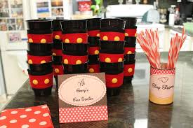 mickey mouse party favors mickey minnie mouse party birthday party ideas photo 11 of 32
