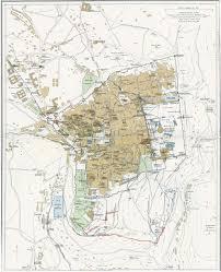 Jerusalem World Map by Jerusalem Map 1915 Full Size