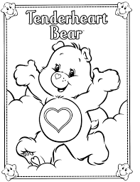 care bear coloring pages seasonal colouring pages 4313