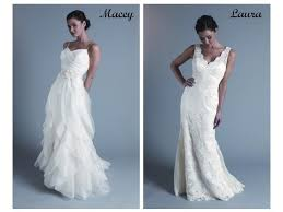 white wedding dress with ivory sash at waist white lace simple