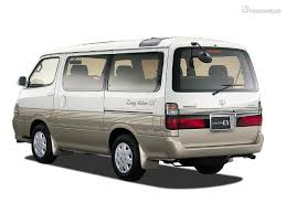 toyota hiace h100 2 8d at 4wd specifications and technical data