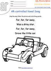 r controlled vowel songs phonics songs kids phonics vowel rhymes