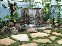 water wall feature ideas