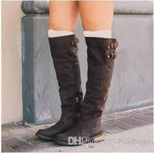 s knee boots on sale european and style s knee boots solid toes