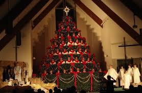 singing christmas tree singing christmas tree highland baptist church