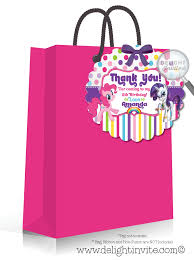 my little pony birthday favor tag di 651ft harrison greetings